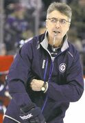 Jets' head coach Claude Noel.