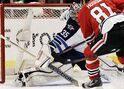 Hawks top Jets 4-1 in rematch