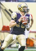 Bombers QB Justin Goltz doesn't expect any mercy from the Riders fans during the Labour Day Classic.