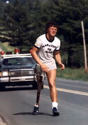 Terry Fox's courage and tenacity inspired people around the world.