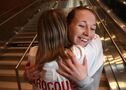 Warm welcome home for gold medal winner Larocque