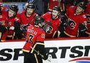 Johnny Gaudreau has career-high six points in Flames' 9-4 win over Devils