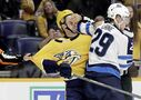 Predators take pound of flesh as Jets parade to penalty box ends in 3-0 loss