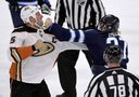 Ehlers' fists of fury raise concern, earn respect on Jets bench