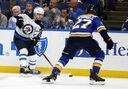 Ehlers played final game on fractured leg
