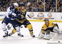 Bruins drop Jets 5-3