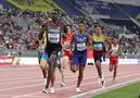 Marco Arop leads wire to wire to clinch a spot in the Tokyo 800-metre semifinals