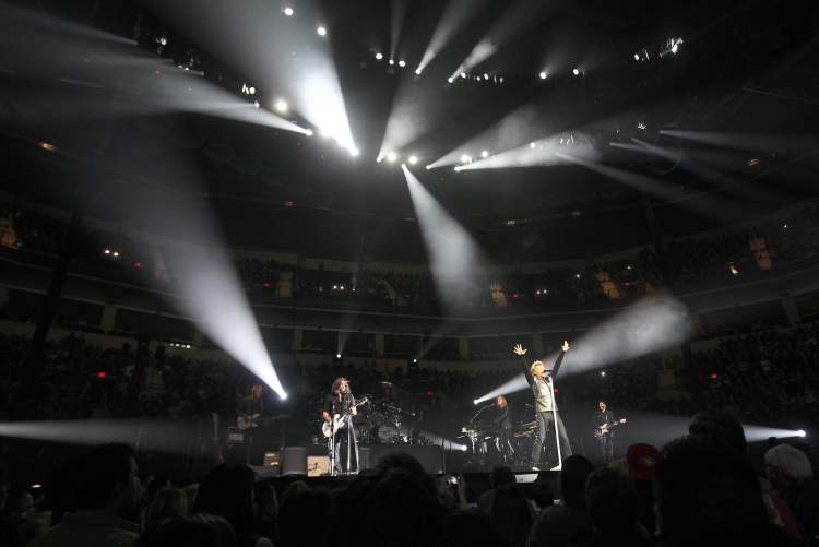 Bon Jovi played at the MTS Centre Friday night. (JOE BRYKSA / WINNIPEG FREE PRESS)
