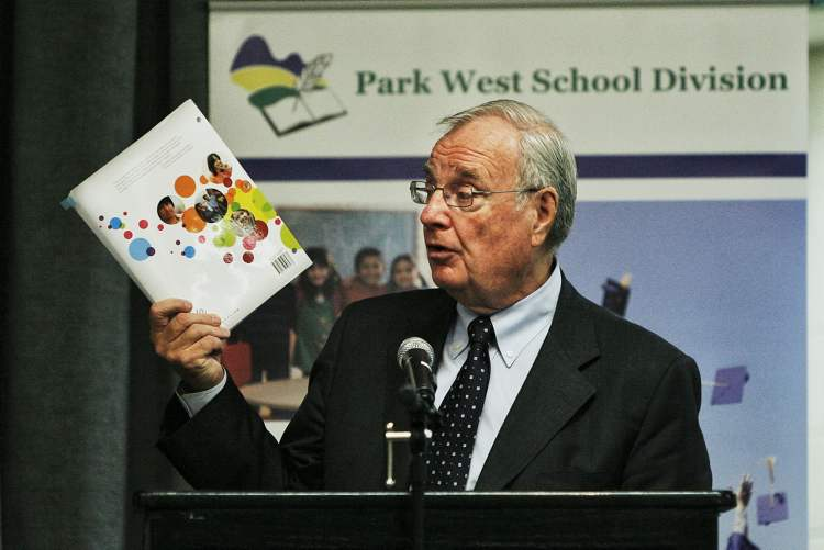 Paul Martin hopes his business course offers students another post-secondary option.