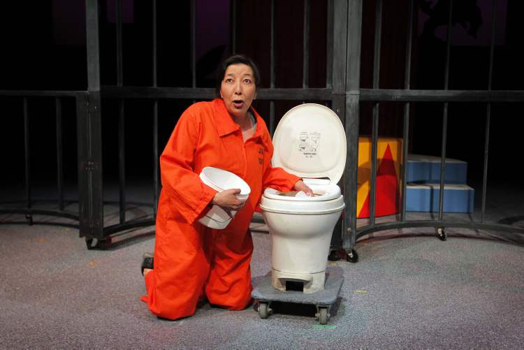 Tracey Nepinak plays the incarcerated Char in Jail Babies.