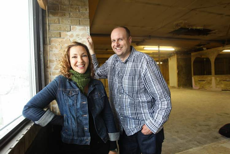 Danielle and Miles Gould, owners of The Grove gastropub in Crescentwood, have signed on to develop a similar concept for the former home of Papa George's restaurant in Osborne Village.