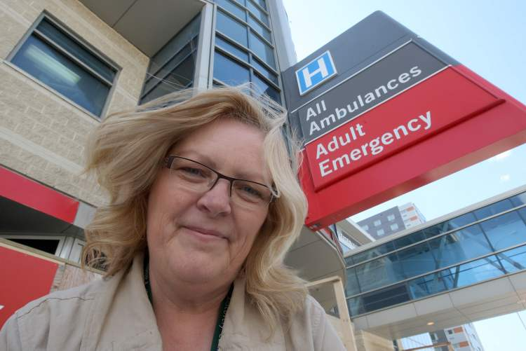 Helen Clark (above), vice-president and chief allied health officer with Health Sciences Centre, says the four new nurses will save the hospital money in the long run so paramedics won't have to wait for patients to be admitted to the hospital, tying up ambulances.