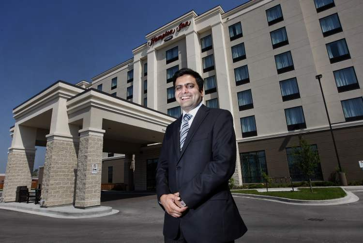Anupam Kothari, president of Kothari Developments, cites expansion of the firm's portfolio in a solid  market for the  company's interest in Manitoba.