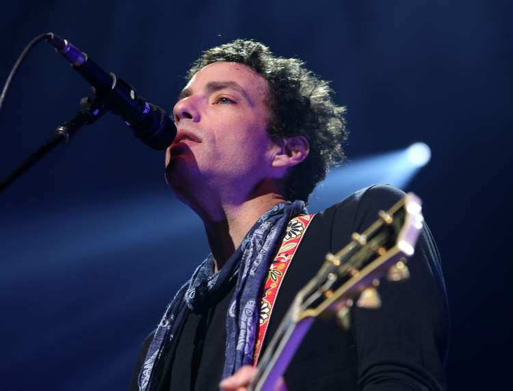 Wallflowers front-man Jakob Dylan.