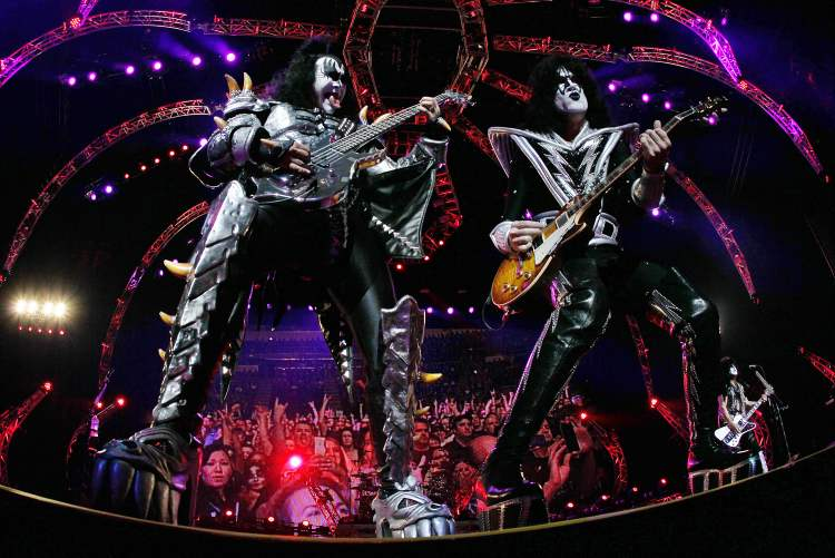 Gene Simmons and Paul Stanley take over.