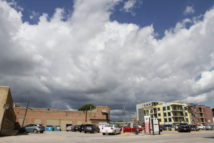 A plan to turn the James Avenue parking lot into a mixed-use development, including a parkade, has fallen apart. No alternative plan is on the table.