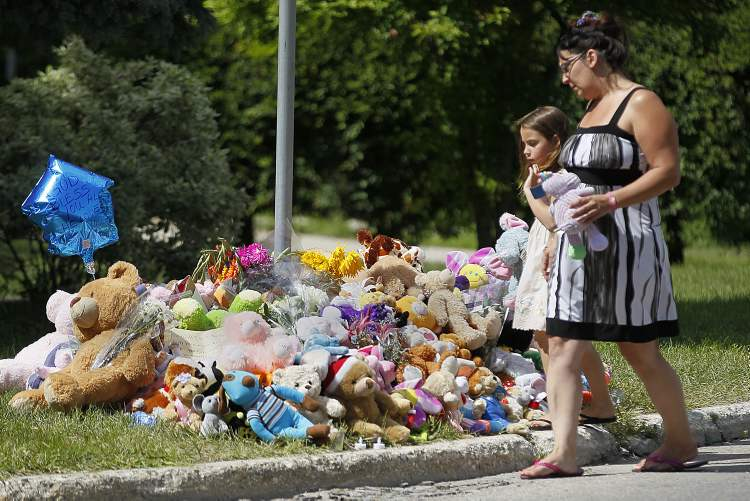 Community grief over the deaths of Lisa Gibson and her two children is markedly different from other similar tragedies.