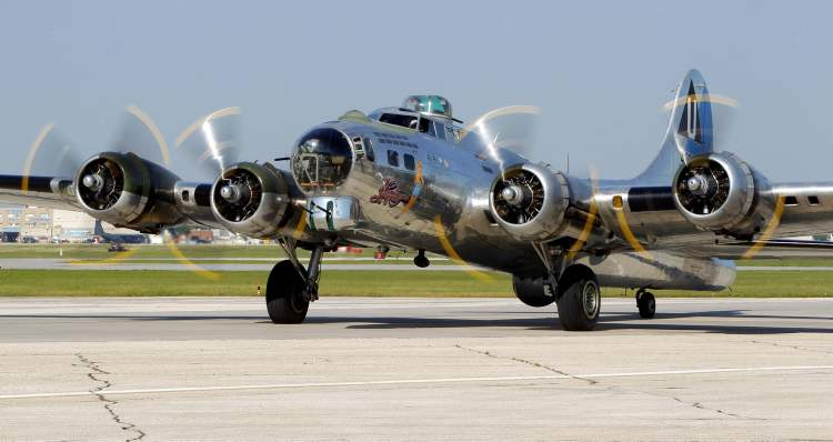 In addition to serving during the Second World War in the Pacific theatre, Sentimental Journey has operated as an air-sea rescue craft as well as a forest fire fighter. It began making appearances at air shows after being fully restored. (BORIS MINKEVICH / WINNIPEG FREE PRESS)