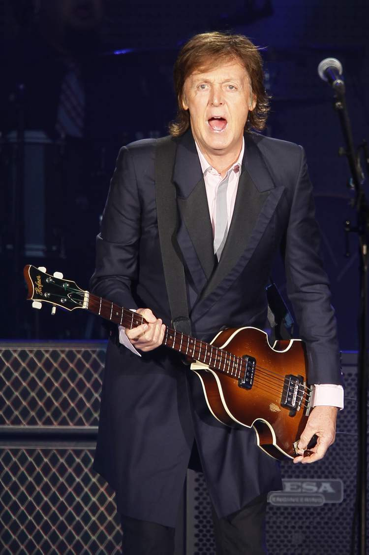 At 71, McCartney had plenty of energy throughout the set.