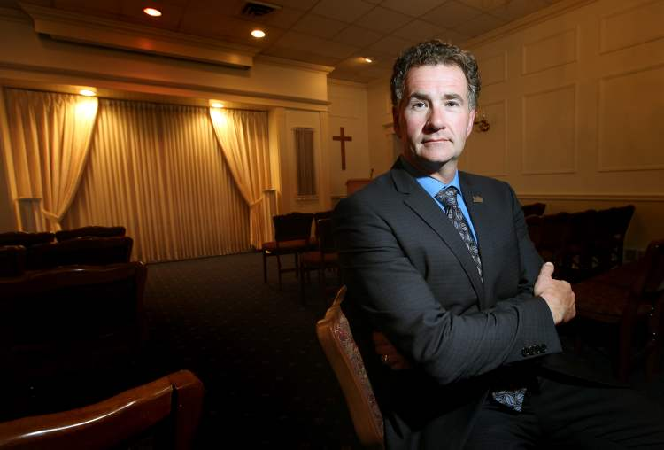 Bardal Funeral Home's Kevin Sweryd says with a new fee to fund oversight of the industry, good businesses would end up paying for bad businesses.