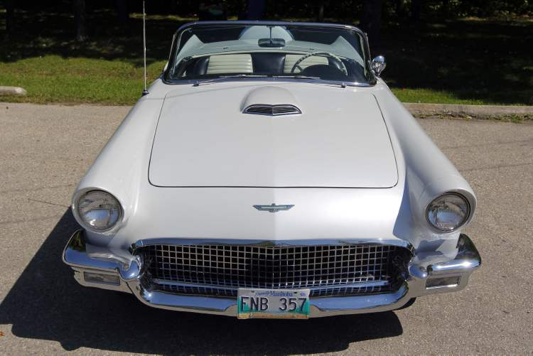 The car was originally set to compete with the MG-TD roadster at $2,500 and the Jaguar XK-120 in the $4,000 range, starting at around the $3,000 mark.    (BORIS MINKEVICH / WINNIPEG FREE PRESS)