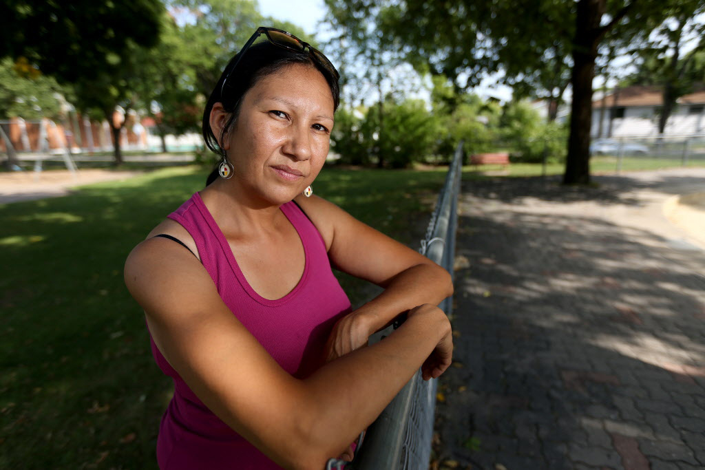 'It's terrible but I don't want to blame anyone, I believe in youth and the good of other people. I love the North End. It has tons of people who are very active within the community.' — Althea Guiboche