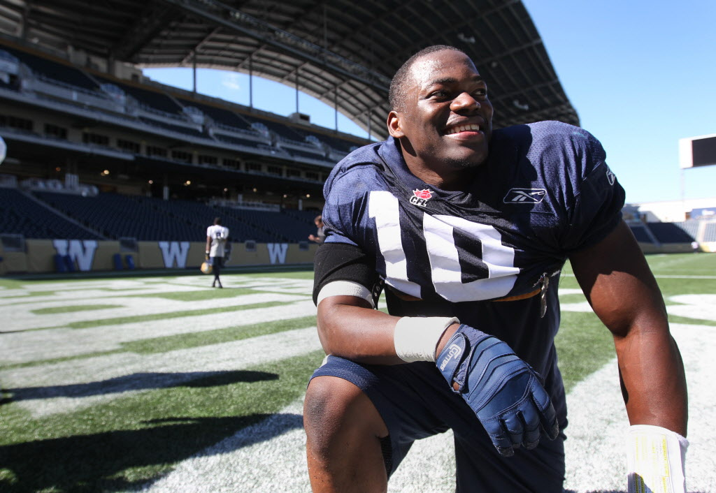Star linebacker Henoc Muamba was a draft day home run for the Blue Bombers, which is to say he lived up to high expectations. Muamba signed with the NFL's Indianapolis Colts in the off-season.