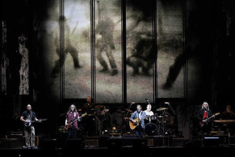The Eagles perform at the MTS Centre.