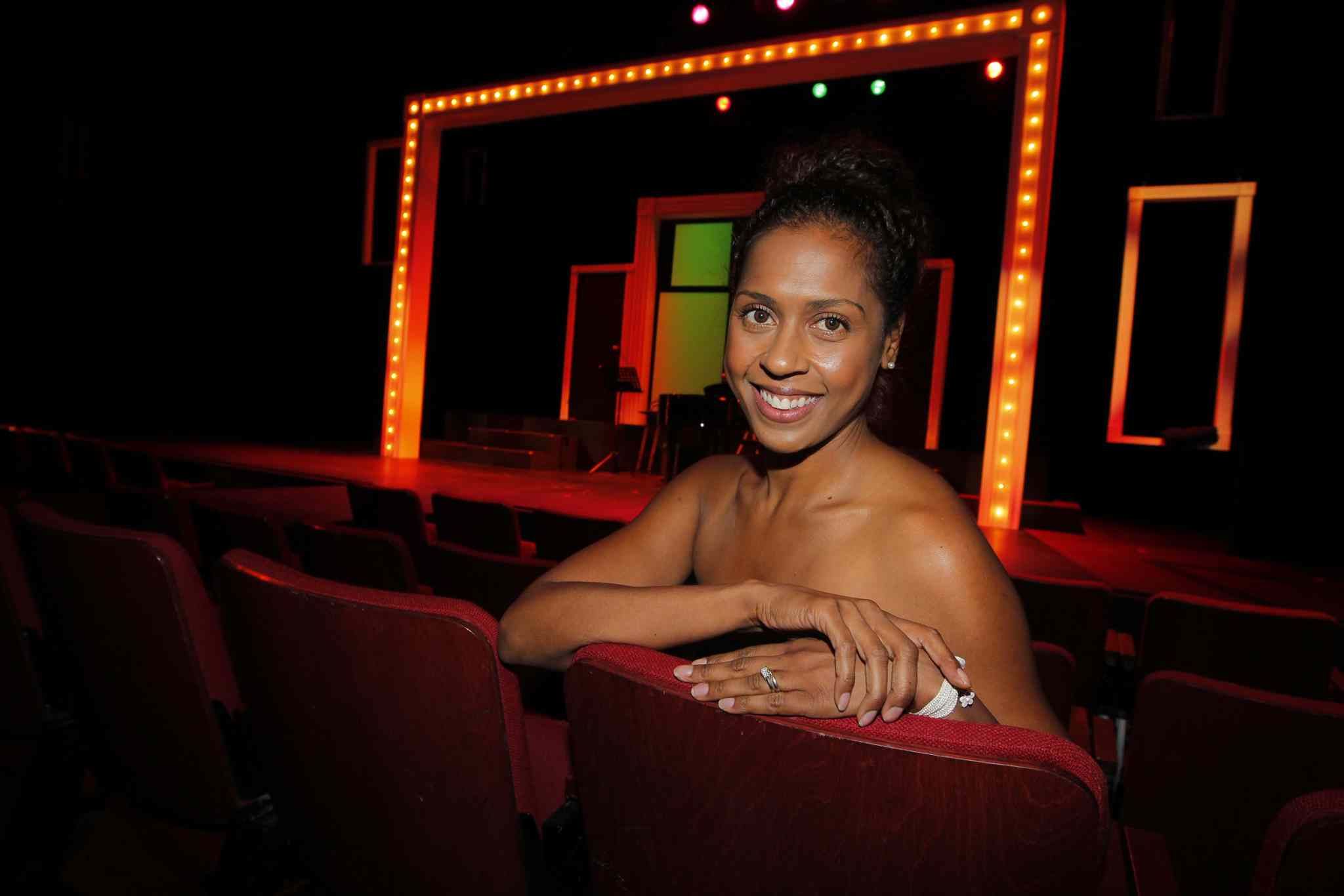 Kimberley Rampersad is finally getting her chance to sit on the other side of the audition desk.