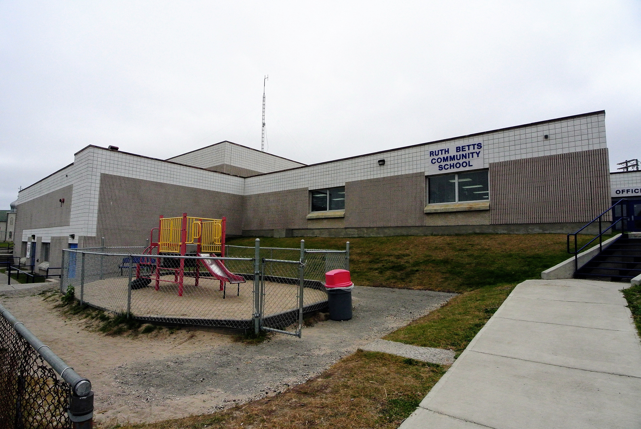 Ruth Betts Community School in Flin Flon.