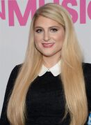 FILE - In this Friday, Dec. 12, 2014 file photo, Meghan Trainor attends the 2014 Billboard Women in Music luncheon at Cipriani Wall Street in New York. Meghan Trainor and One Direction star Harry Styles got together to write a duet called