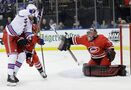 Hurricanes spoil Rangers' Cup celebration with 3-0 victory
