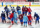 Bergevin doesn't see downside to NHL return experience as club returns to ice