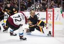 MacKinnon scores OT winner, Avs recover from blowing late lead to beat Canucks