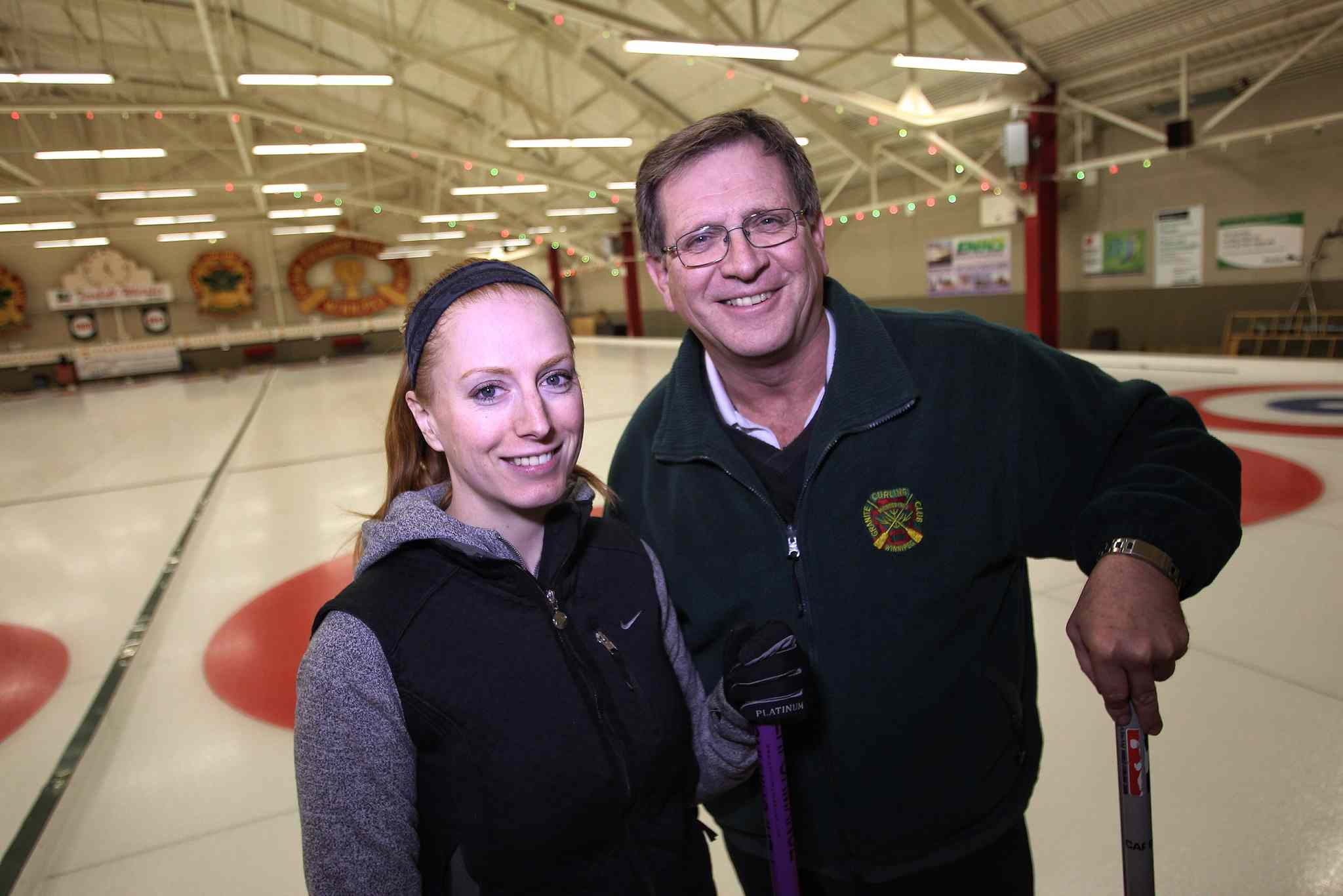 Kristy McDonald wil have one of her biggest supporters, dad Bob Jenion, on hand when the Carey foursome challenges the best teams in the country for the right to go to Sochi.