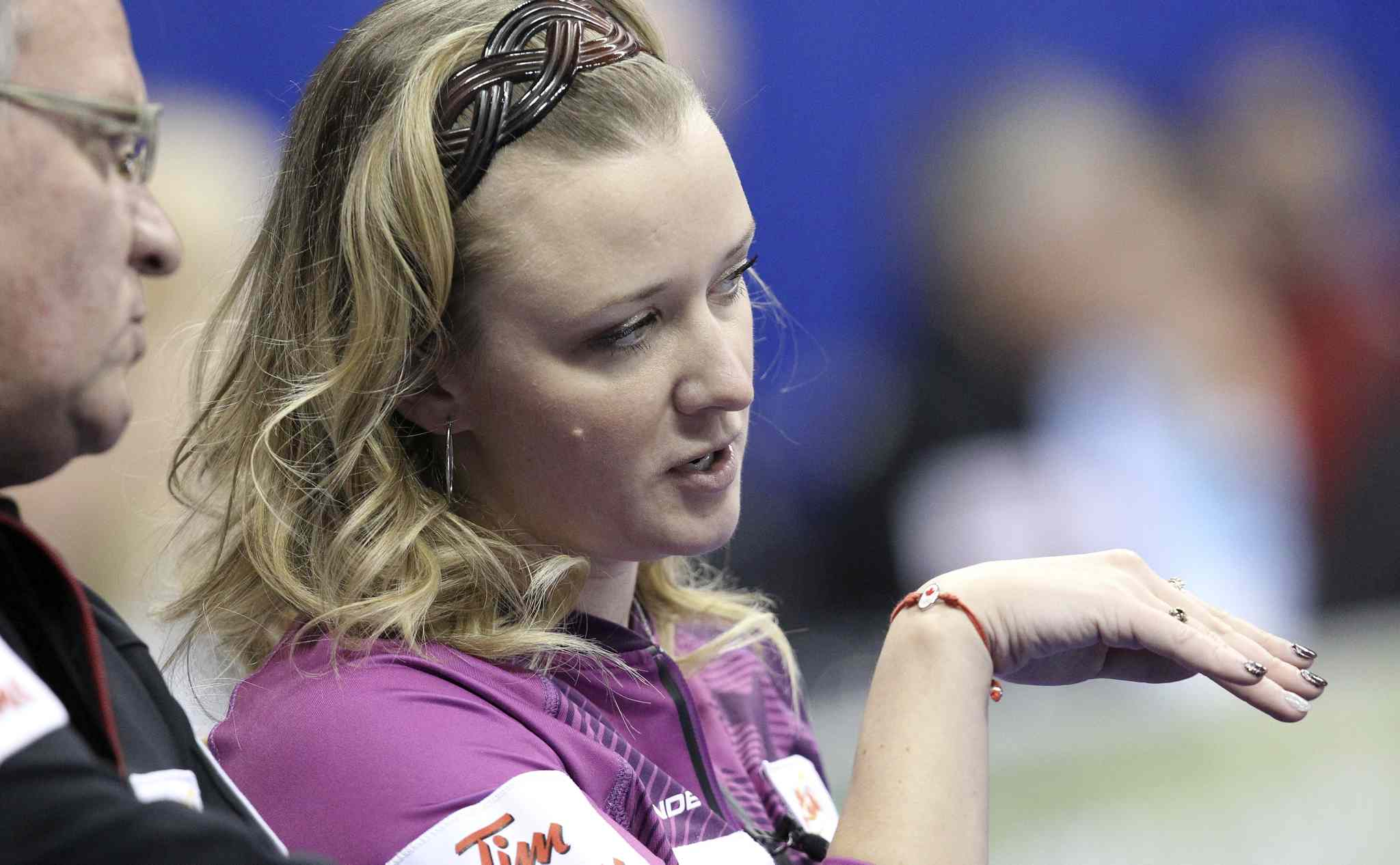 It started badly for Winnipeg's Chelsea Carey before the bonspiel even began.