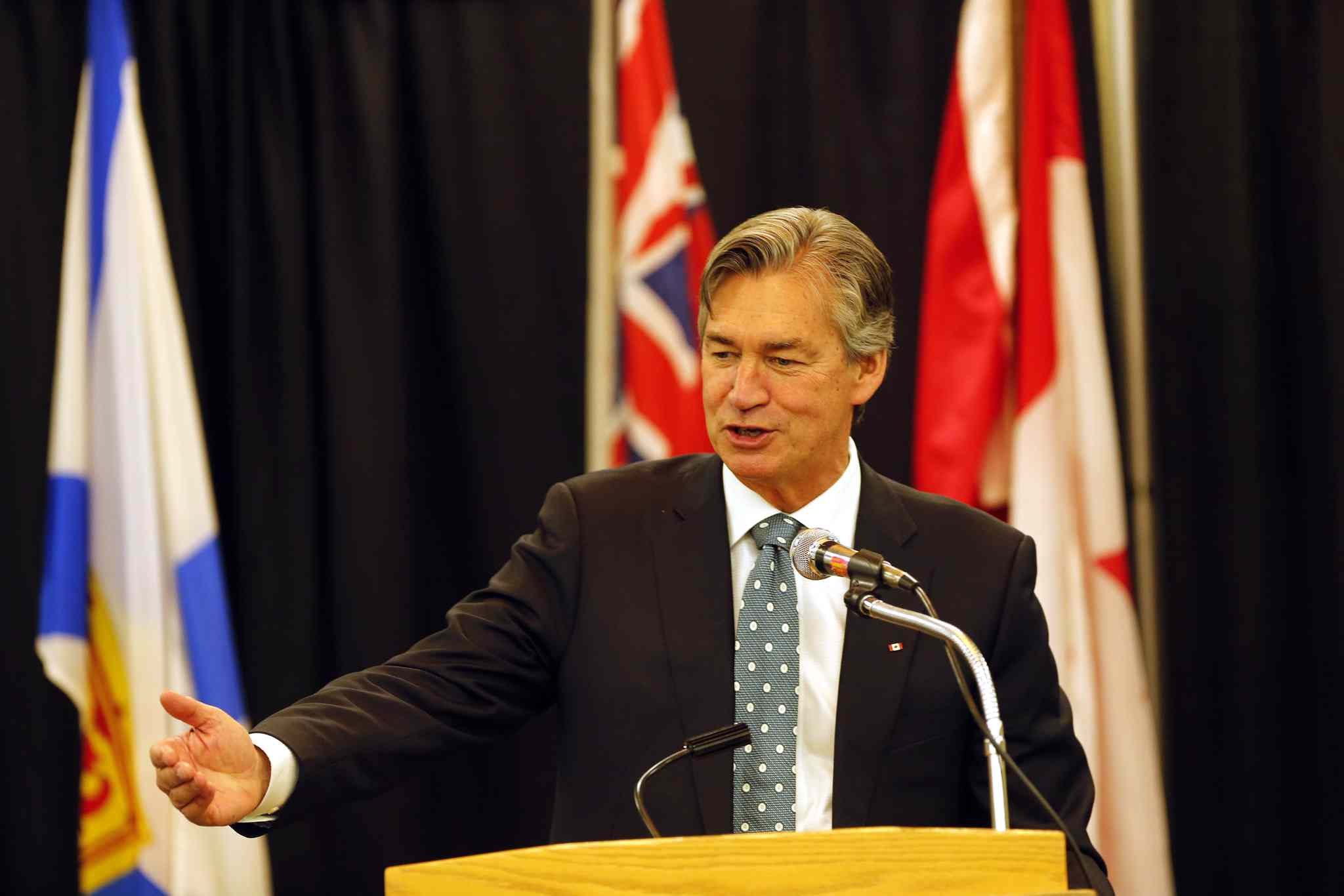 Gary Doer says there is no discrepancy between his support of Keystone and his record on environmental issues.