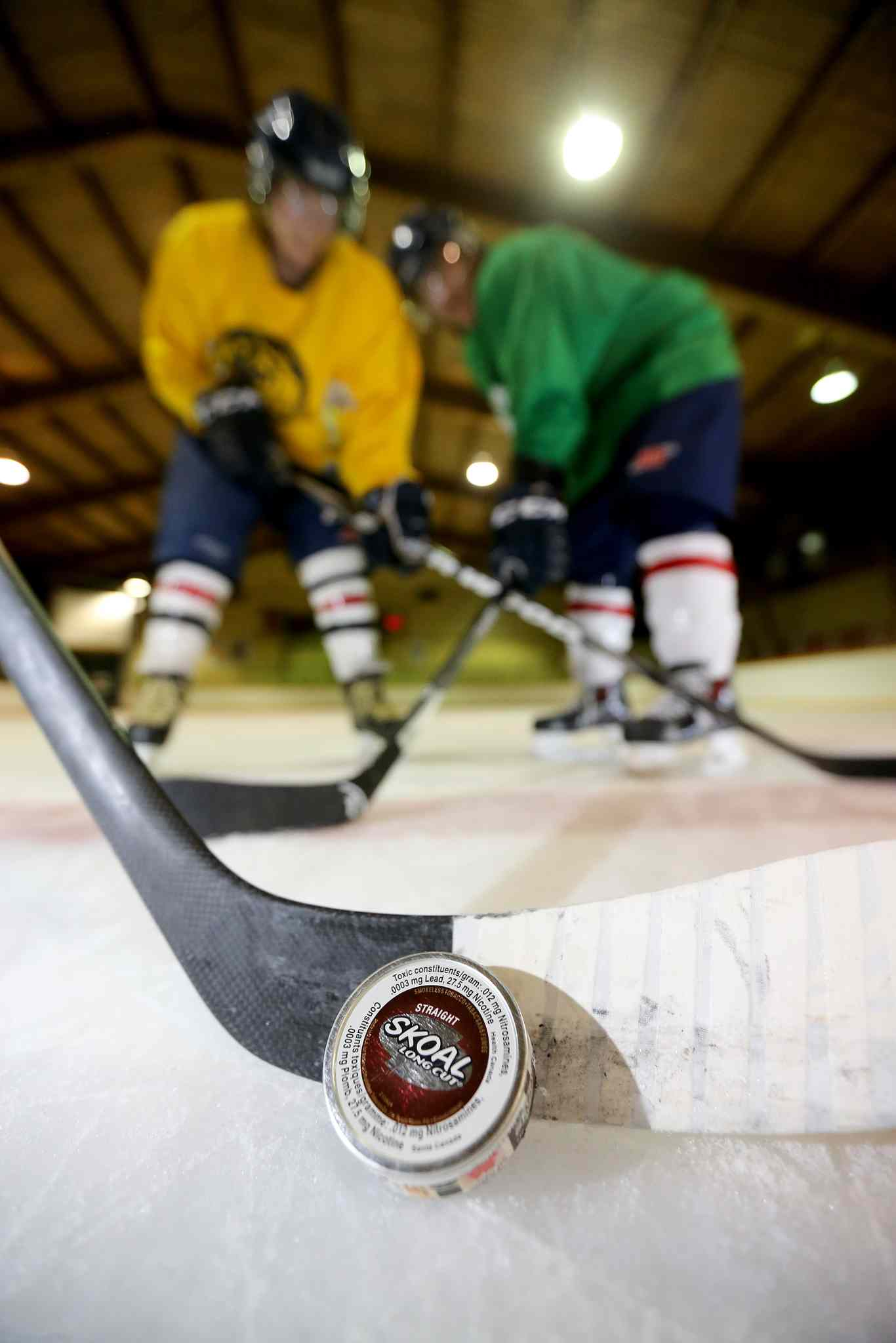 Hockey has a tobacco problem that has seeped into the culture of the sport -- from kids as young as 13 to grizzled NHL professionals.