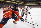 Oilers' Khaira suspended two games for cross-checking Blues' Dunn