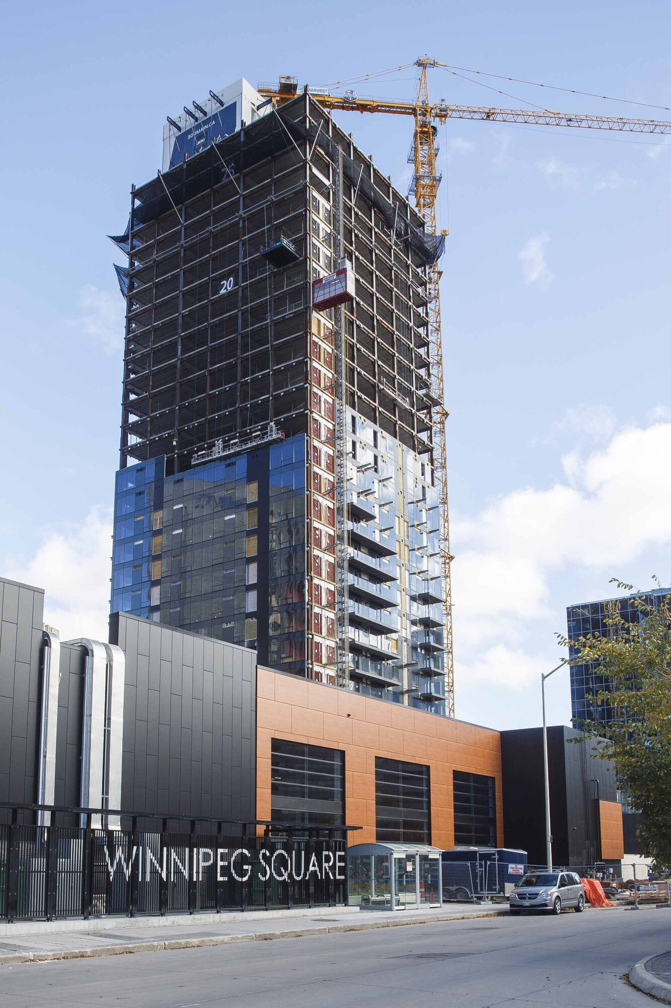 A $165-million 40-storey mixed-used residential tower at 300 Main St. is being built by Artis REIT.