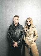 TNT/BravoSean Bean, left, and Ali Larter play an FBI agent and his handler in Legends.