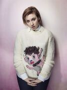 Lena Dunham poses for a portrait to promote the film,