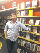 Colin Hamlin is the current owner of Element Bookstore and Tea Room.