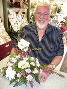 Jim Fuller, owner of Top Hat Florists, will appear at A Gardener's Evening on May 15.