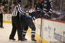 Jets' Wheeler being held for observation following throat injury