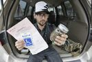 Arrested for legal pot, man claims