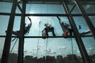 Hard windows of opportunity: Cleaning 2,000 museum panes