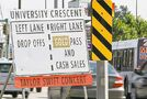 Traffic flows swift and smooth for concert