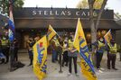 Stella's Sherbrook location staff on strike one year after public battle led to first contract