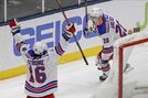 Kreider scores late to lift Rangers over Islanders 3-2